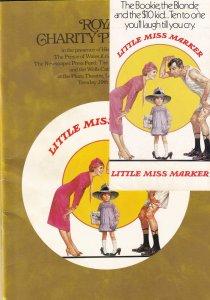 Little Miss Marker Julie Andrews FIRST EVER Movie Premiere + Ticket