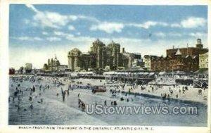 Beach, New Traymore in Atlantic City, New Jersey