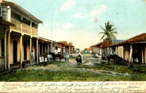 Cuba - Camaguey. Moralito Street, Las Minas