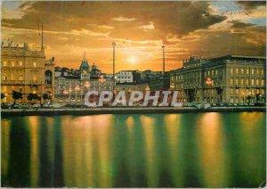 Postcard Modern Trieste Square Unite d'Italia
