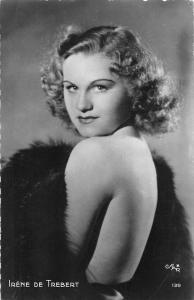 Actress Irene de Trebert fancy, elegant, risque
