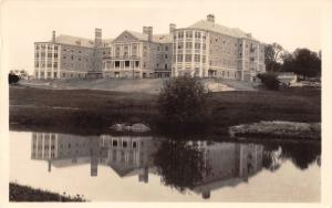 Concord New Hampshire~View Across Lake~Christian Science Home~1927 RPPC
