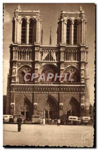 Old Postcard Paris And Its Wonders Cathedrale Notre Dame