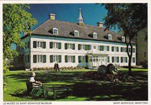 Canada Winnipeg Saint Boniface Museum Built 1846