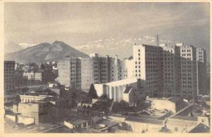 Santiago Chile Scenic View Antique Postcard J55717