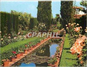 Postcard Modern Granada Generalife Jardines Detalle nueves