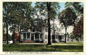 NY - Kingston. Dr. Sahler's Sanitarium
