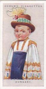 Ogdens Vintage Cigarette Card Children Of All Nations 1924 No 19 Hungary