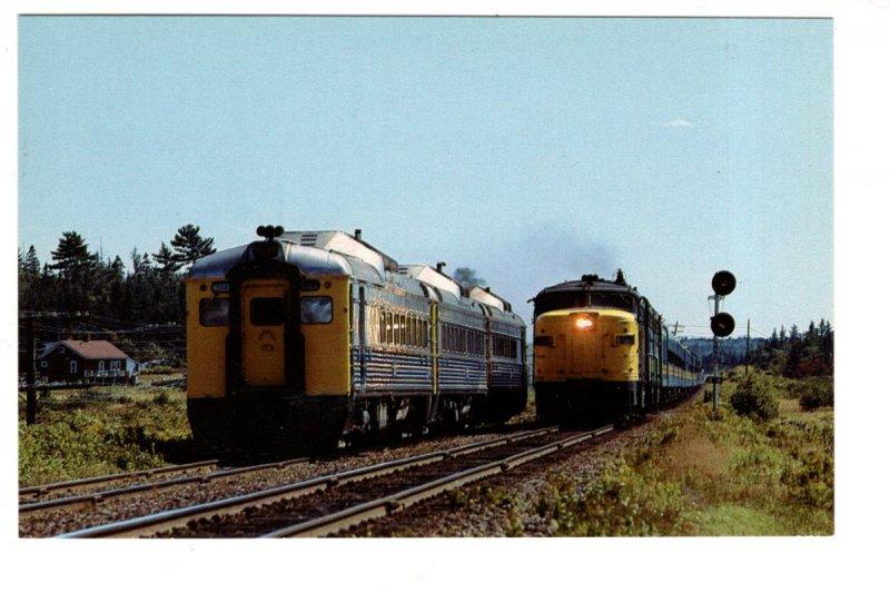 VIA Railway Trains, Brookfield, Nova Scotia