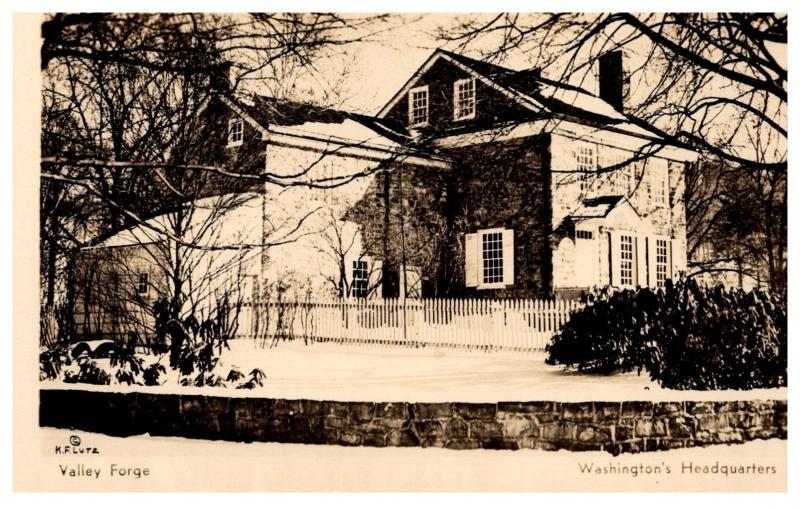 Pennsylvannia  Valley Forge , Washington's Headquarters