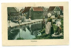 Scene, Volendam (North Holland), Netherlands, 1900-1910s
