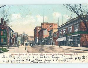 Pre-1907 STREET SCENE Rochester New York NY A0230