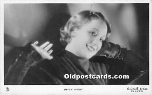 Joyce Kirby Theater Actor / Actress Unused