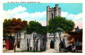 Delaware  Wilmington ,  St. Paul's M.E.Church