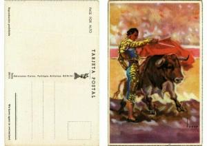 CPA AK Bullfighting - Pase por Alto (777128)