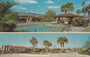 TUCSON , Arizona, 1950-60s ; El Sol Motel, 2-views