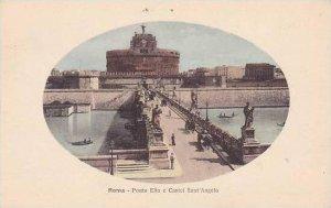 Italy Roma Rome Ponte Elio e Castel Sant'Angelo