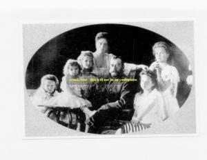 mm368 - Czar Nicholas II Romanov & family in 1906 - Russia - print 6x4