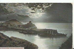 Devon Postcard - Ilfracombe - Harbour By Moonlight - Ref TZ5619