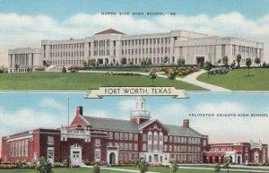 FORT WORTH , Texas , 30-40s; North Side & Arlington Heights High Schools