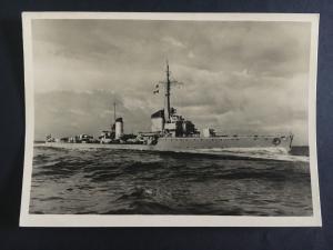 Mint RPPC Postcard Germany Navy Kriegsmarine Torpedo Boat Luchs WW 2