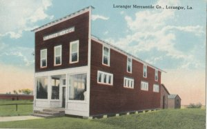 LORANGER , Louisiana , 1900-10s ; Loranger Mercantile Company