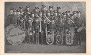 Fall River Salvation Army Citadel Band Vintage Postcard JI658499