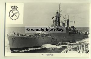 na1669 - Royal Navy Warship -  HMS Relentless - photograph