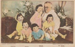 Dionne Quintuplets (Yvonne, Marie, Cecile, Annette, Emilie) ,Callander, 1930s #8