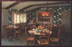 Hickory Stick Farm Interior Restaurant Laconia New Hampshire Postcard