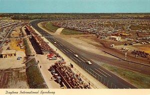 Daytona Beach, Florida USA Auto Race Car, Racing Postcard Unused