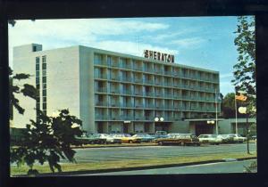 Norwich, Connecticut/CT/Conn Postcard, Sheraton Motor Inn, Old 1970's Cars
