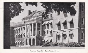 DES MOINES, Iowa, 1930-50s; Veterans Hospital
