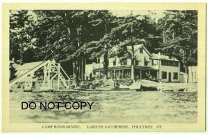 Camp Kinni-Kinnic, Lake St, Catherine, Poultney Vt