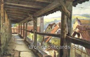 Rothenburg Germany, Deutschland Postcard