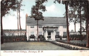Chauncey Olcott Cottage Saratoga, New York