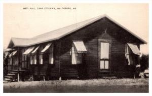 Maine Waldoboro , Camp Ottokwa , mess hall