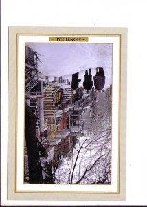 Saint Vallier in Snow, Montreal, Quebec,