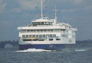 Tycho Brahe Helsingor Ferry Helsinger Denmark Astronomy Founded Ship Postcard