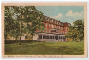 Dunstan's University, Charlestown, Prince Edward Island
