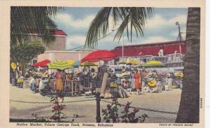 Native Market, Prince George Dock, Nassau, Bahamas, 1930-40s