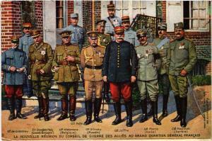 CPA Militaire, La Nouvelle Reunion du Conseil du Guerre (361890)