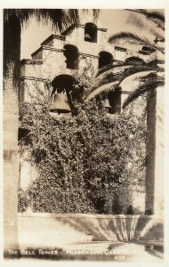 RP: Mission San Gabriel , California , 20-30s ; The Bell Tower