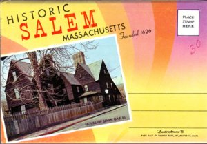 SALEM MASS - FOURTEEN historic views of the Witch City, 1950s