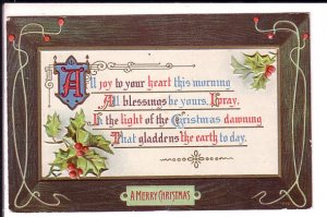 Christmas Prayer, Used to  Change Islands, N.F.L.D. Newfoundland