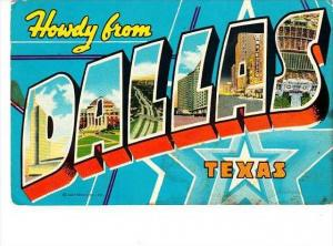 Texas Dallas Greetings From