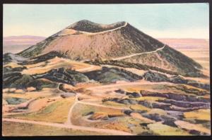 Postcard Unused Mt Capulin Volcano Raton NM LB