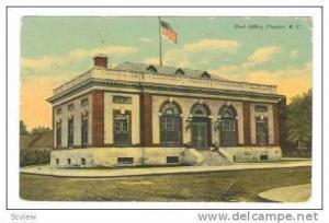 Post Office, Chester, South Carolina, PU-1911