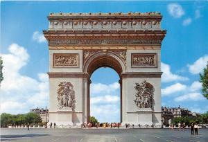 BG28199 l arc de triomphe  paris    france
