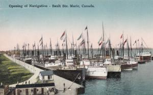 SAULT STE. MARIE , Ontario, Canada, 1900-10s ; Opening of Navigation